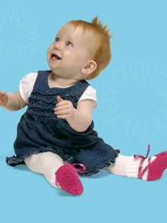 Knitting Project: Ballerina Socks