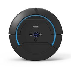 The Robotic Floor Washer - Three times as effective as previous generations, this Scooba 450 automatically moves in a precise, methodical pattern, sweeping up loose dirt then emitting a cleaning solution while a rotary brush gently scrubs at over 600 rpm. - Hammacher Schlemmer