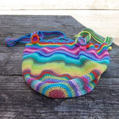 crochet: Lucy bag number two #AudreyB. #StudioPaars