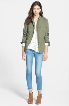 Hinge® 'Expedition' Cotton Twill Jacket | Nordstrom