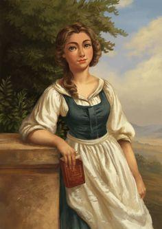 Belle portrait by GreyAnnis.deviantart.com