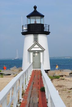 new england, cape, lighthouses, light hous, sea, walkway, nantucket, beach, place