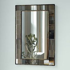 Antique Tiled Wall Mirror #WestElm