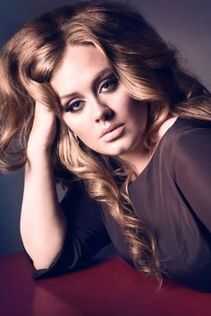 Adele..Smoke eyes nude lips