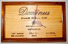 Wine Box Creations - Wall Clock