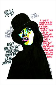 Marker Portraits by Mr Frivolous | Abduzeedo | Graphic Design Inspiration and Photoshop Tutorials