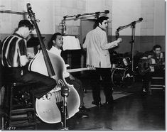 bob, elvi 1950s, rock session, radio record, radios, elvi presley, elvis presley, rocks, elvis1957jailhous rock