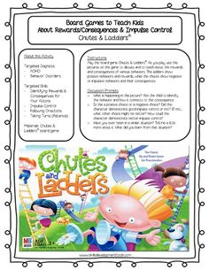 Free Worksheets  Activities for Emotional  Mental Health Skills! Great activities for teaching kids coping skills and social skills. This activity is great for teaching impulse control and rewards and consequences to young children and children diagnosed with ADHD, ODD, and other Behavior Disorders.