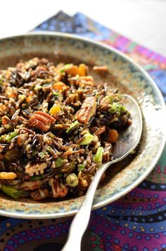 Nutted Wild Rice - the perfect holiday dish.
