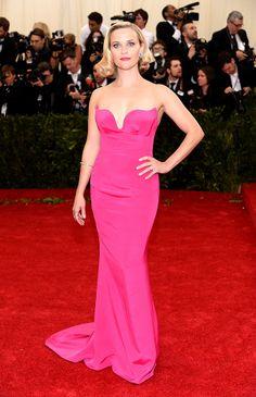 2014 #MetGala Fashion: Reese Witherspoon in Stella McCartney