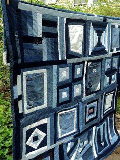 Blue Jean Milkweed Quilt