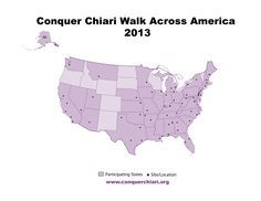CCWAA 2013 Site Map visit www.conquerchiari.org to register!!