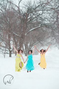 Snow Day to the Nines | Manhattan, KS Junction City, KS Premier Portrait Photographer