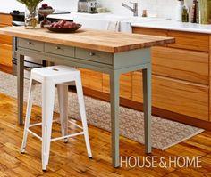 DIY Kitchen Island - House & Home