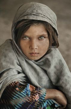Girl in Afghanistan by Steve McCurry