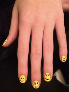 The cutest nail art from New York Fashion Week!