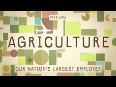 Food for Thought - What do America's Farmers grow? - YouTube