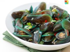 Steamed Mussels in C