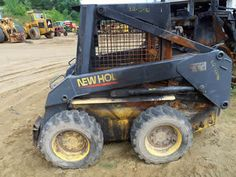 New Holland LS170 skid steer salvaged for used parts. Call 877-530-4430. We buy salvage farm equipment. 7 salvage yards in the Midwest. http://www.TractorPartsASAP.com