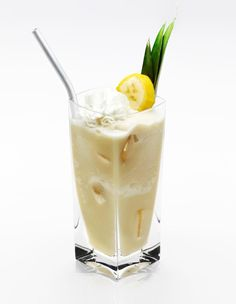 Disaronno Cocoban    Take a journey to the tropical side of the world with this creamy Disaronno Cocoban mix:    1½ parts Disaronno  2 parts Colada mix  2 spoons Vanilla ice cream  ½ Fresh banana  Whipped cream    Mix all ingredients in a blender with ice and pour into a chilled cocktail glass. Top with whipped cream and a banana slice.