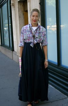 On The Street…The Unexpected Mix , New York « The Sartorialist
