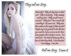 I love the words of wisdom. #sissy #feminized