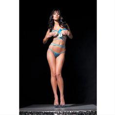 CLICK IMAGE TWICE FOR PRICING AND INFO :) #bra #bras #shelf #shelfbra #shelfbras #womens #intimates  SEE A LARGER SELECTION FOR the shelf bra at http://zwomensbra.com/category/bra-categories/shelf-bra/ -  Ribbon Release Shelf Bra Set- B167(IRIDESCENT BLUE/PURPLE,ONE SIZE) « Z Womens Bra