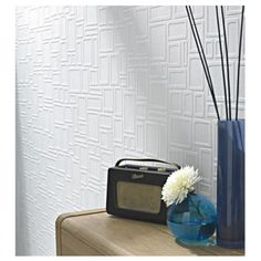 Graham & Brown Feature Wall Paintable Wallpaper by Graham & Brown - 175/7