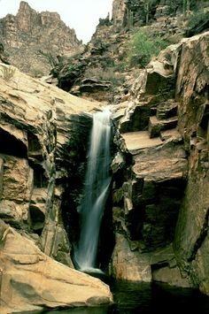 Seven Falls, Tucson AZ   © Marsha K. Russell