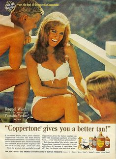 Raquel Welch for Coppertone