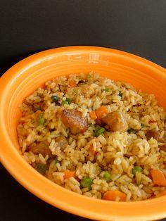 Pork Fried Rice - My Culinary Escapades