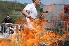 tough mudder - the boy is doing this this year - i keep telling him he's crazy & the kids want to buy a ticket just to see him run thru the electric wires while wet - lol - gotta' love teenagers tough mudder