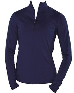 Navy wind shirt | #golf4her #jofit #blue