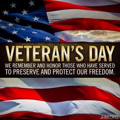 God bless each and every Veteran!