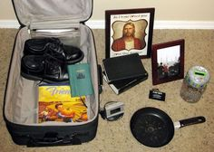 Pergler's Primary Place: Missionary Suitcase Sharing Time