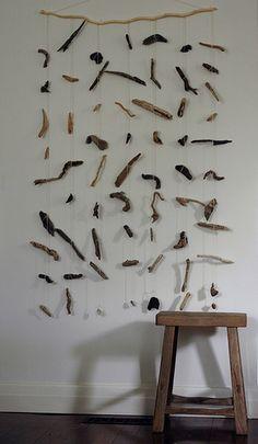 Driftwood Hanging via Flickr.
