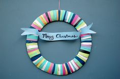 Paperbag Wreath by Teri from Giddy Giddy It's time to start decorating the house with holiday cheer! Here's a simple and colorful holiday wreath you can make with kids. This only requires recycled paper bags and a little bit of...