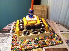 Trailer Trash Party Cake