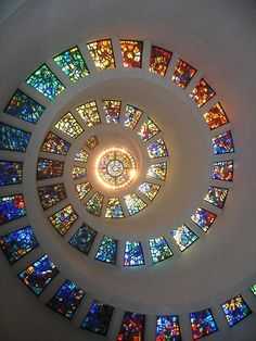 Lovely stained glass windows