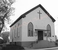 British Methodist Episcopal Church,   Salem Chapel  St. Catherine's, Ontario  (Harriet Tubman's Church - the end of the Underground Railroad)  Title: Tubman Church