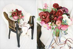 wedding bouquets, dahlia