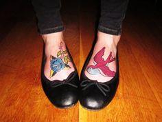 ...love foot tattoos.