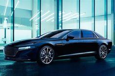 Aston Martin Lagonda: 550 Horse V12 Sedan