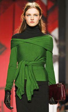 beautiful green top