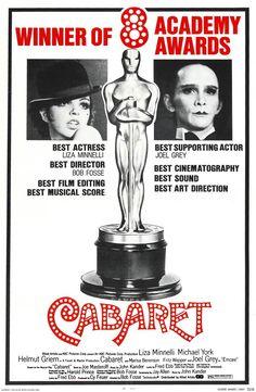 Cabaret 1973 Re-release film poster