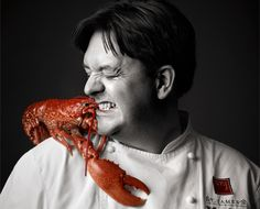 The Lobster Loving Executive Chef William Drabble of Seven Park Place Restaurant, St James Hotel & Club London