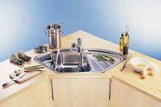 Kitchen Corner Sink Unit 4