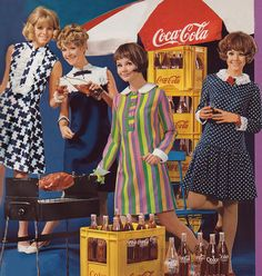 Coca-Cola ad from the 1960s