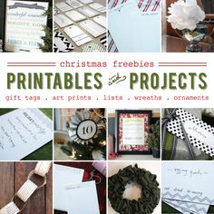 Christmas freebies from Jones Design Co.
