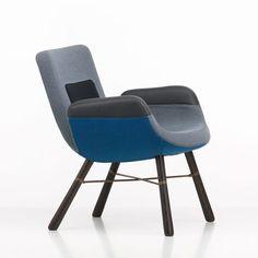Vitra launch new Hella Jongerius lounge chair in Milan
